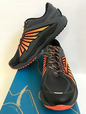 d620953b742b New Men s Brooks Caldera Anthracite Red Orange Black Size 11.5D  140