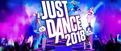 Just Dance 2018 for Nintendo Switch **Brand New**