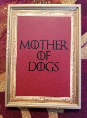 Game Of Thrones Inspired Mother Of Dogs Handmade Christmas Ornament/Magnet/DHM