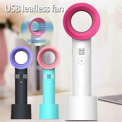 Mini Wireless Portable Bladeless Cooling Fan No Leaf Fan USB Charging Handheld