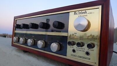 McIntosh C20 Tube PreAmplifier  **ALL  Original** (C11 & C22 era) THE KING