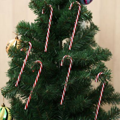 ChristmasTree Decoration Pendant Holiday Ornaments Striped Candy Cane Sticks N!&