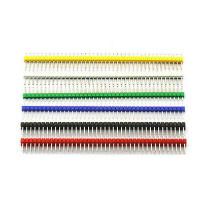 10× Color row needle 2.54mm single row/double row needle straight needle 1/2*40P