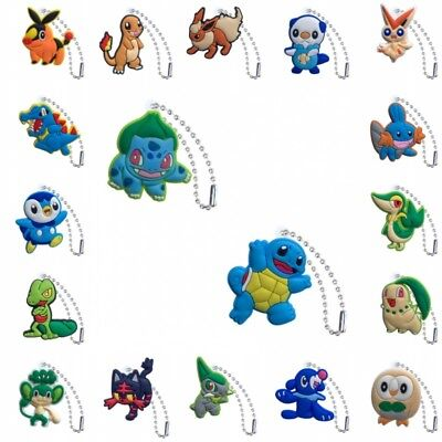 50-100PCS Pokémon Kids Ball Chains Multi-function Decorations Party Small Gift