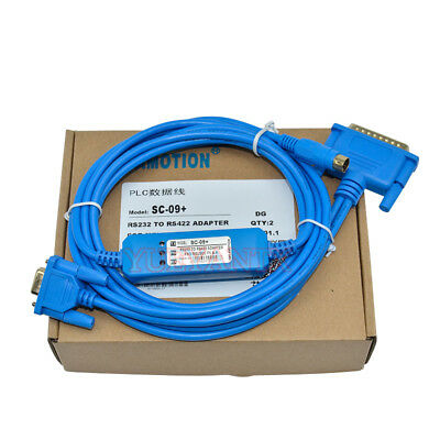 SC-09 Serial Cable RS232 Port Suits Mitsubishi FX/A Series PLC Programming Cable