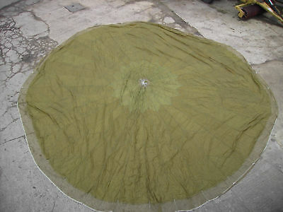 X Type Parachute canopy (With Lines)