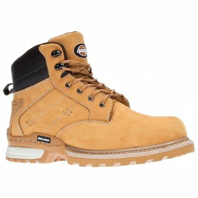Dickies Canton Work Safety Shoes Boots Steel Toe Cap Ankle Boots Honey Nubuck