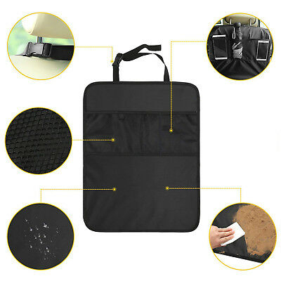 Car Auto Care Seat Back Protector Cleaning Cover For Children Kick Mat Mud Clean