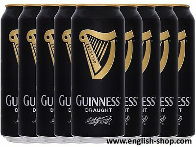 Guinness Draught Stout 24x500ml Original Importware!