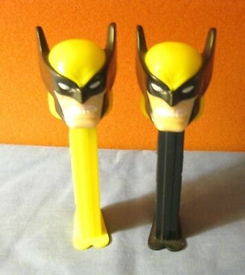 Pez Wolverine Black & Yellow 2 Different ~ Loose