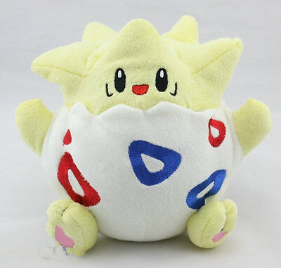 "Anime Pokemon 8"" High Togepi Pocket Monster Soft Plush Stuffed Doll Figure Toy"