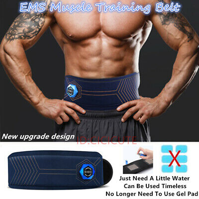 EMS Muscle Stimulater Training Gear ABS Abdominal Exercise Toner Toning Belt
