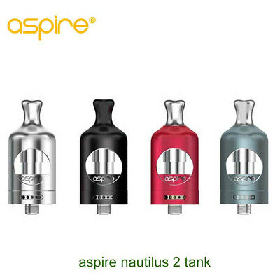 Authentic Aspire Nautilus 2 Tank -Black