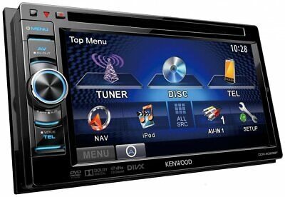 """KENWOOD DDX3023 6.1"""" WVGA 2DIN Monitor with DVD/USB-Receiver"""