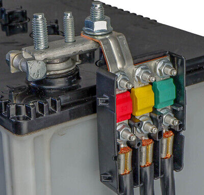 MTA fuse box holder for 3 Midival Fuses with bus bar
