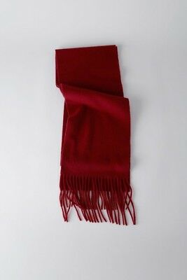 Authentic New Acne Studios Gray Virgin Wool Shawl Fringed  Scarf Wrap Oversize