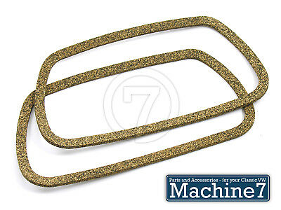 2 X ROCKER COVER GASKETS BEETLE BUG T1 T2 TYPE 1 2 AIR COOLED 1300-1600 1960-79