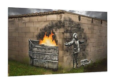 Banksy Graffiti Girl with Bluebird Wings Quote Picture Print Wall Art A2 Size