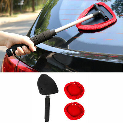 Plastic Windshield Clean Car Auto Wiper Cleaner Glass Window Tool Brush Kit US