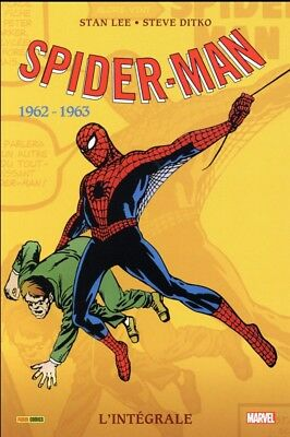 SPIDER-MAN INTÉGRALE 1962-1963  - Nouvelle Edition - PANINI COMICS - NEUF