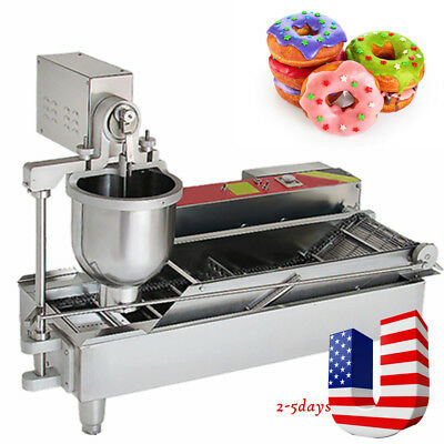 High Quality Manual Automatic donut ball Fryer Maker Making Machine,3 set Outlet