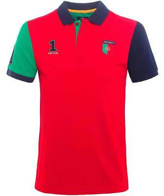 HACKETT London Classic Fit (2018 Fifa World Cup) 100% Cotton Polo Shirt PORTUGAL