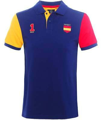HACKETT London Classic Fit (2018 Fifa World Cup) 100% Cotton Polo Shirt SPAIN