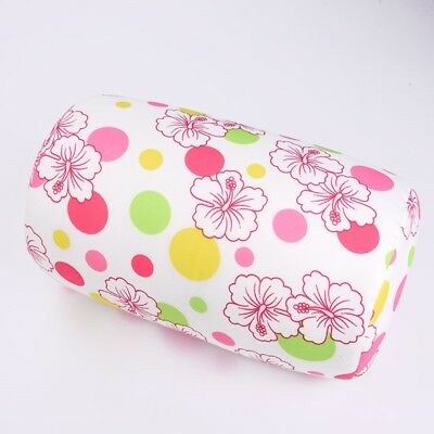 New Print Micro Bead Roll Bed Chair Car Home Cushion Squishy Tube Back Pillow