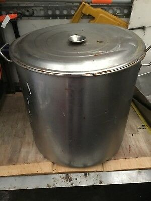 Industrial Large Stock Pot Pan Restaurant Catering cooking Stainless Steel Huge