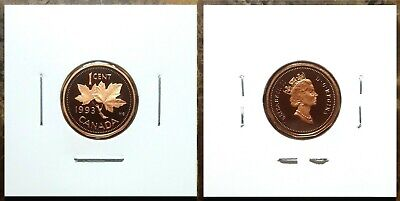 Canada 1993 Proof Gem UNC One Cent Penny!!