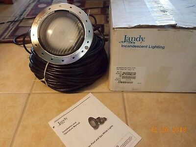 Jandy WPHV500WS100 White 120V 500W 100' Cord Pool Light Free Shipping !