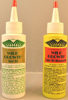 Wild Growth Hair Oil, Light Oil Moisturizer, Duo or Hair Oil  ***FREE SHIPPING