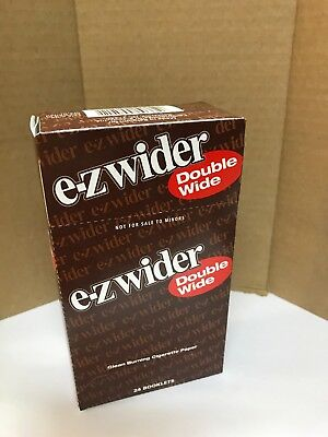 E-Z  Wider Double Wide Rolling Papers -24 PACK🔥Free Shipping🔥 buy 5 get 1 free