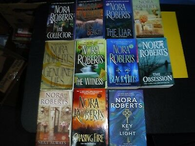 Lot Of 11 Novels By Nora Roberts
