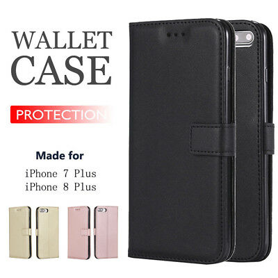 Luxury Flip Wallet Leather Case Cover Magntic For iPhone 6 7 8 Plus X XS Max XR
