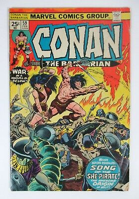 Conan the Barbarian #59 Marvel Comics 1975