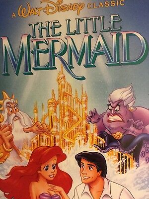The little Mermaid, DVD