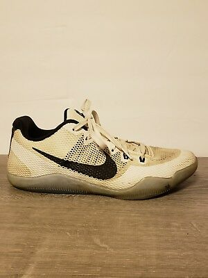 best sneakers f6fd5 5cbf0 ... uk nike kobe xi 11 em low fundamentals white black clear icy sz 8.5  856485 b0aac