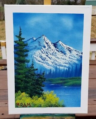 BOB ROSS CERTIFIED Instructor Painting