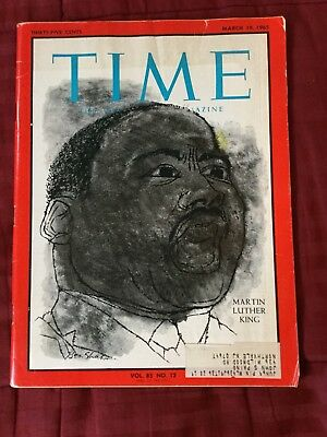 Martin Luther King - Selma March - 1965 Time Magazine
