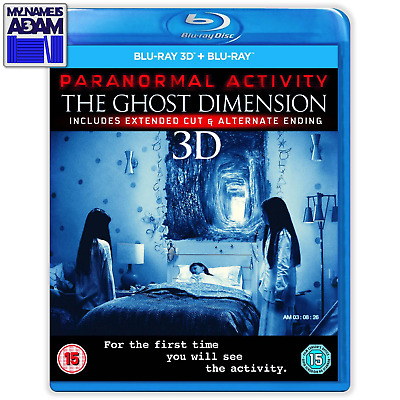 PARANORMAL ACTIVITY: THE GHOST DIMENSION Blu-ray 3D + 2D (REGION-FREE)