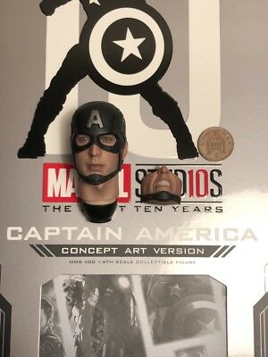 Hot Toys Captain America Concept Art MMS488 Figure Stand loose échelle 1//6th
