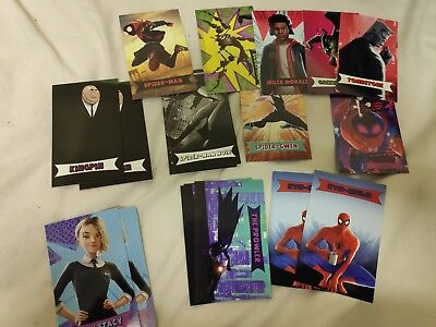 Spider-Man Into The Spider-Verse Odeon single cards Buy Two Get One Free