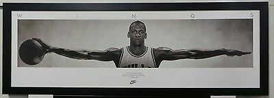 NBA - Michael Jordan - WINGS - Framed Photographic Print - READY TO HANG