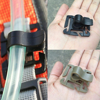 Creative Hydration Water Bladder Tube Trap Hose Clip Strap Travel Backpack Tool