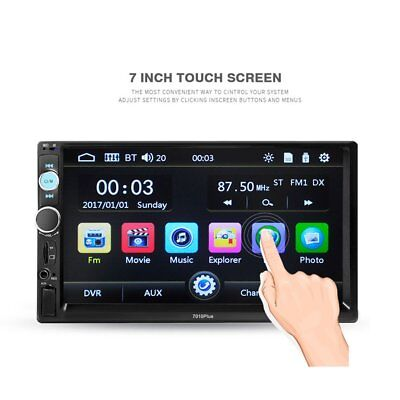 7010B 2-Din 7 inch Car MP5 Player Touch Screen Bluetooth Stereo Radio USB Remote