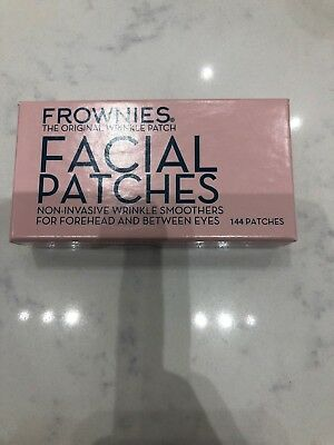 Frownies Facial Patches Wrinkle Smoothers For Forehead & Between The Eyes