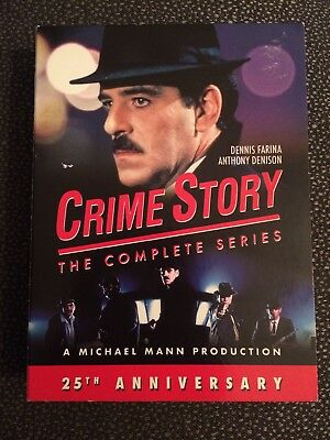 Crime Story: The Complete Series Dvd Box Set 25th Anniversary