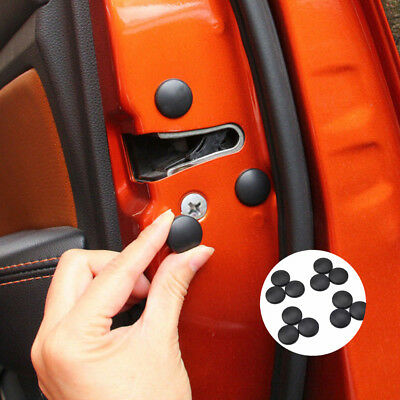 12x Universal Car Auto Interior Door Lock Screw Protector Cover Cap Trim Useful