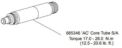 Vickers Eaton 685346 AC Core Tube S/A, Part for Directional Hydraulic Valve